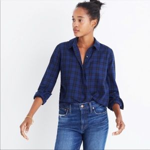 Madewell Crossover Top